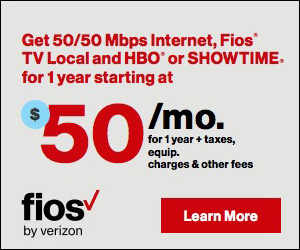 Verion FiOS Packages